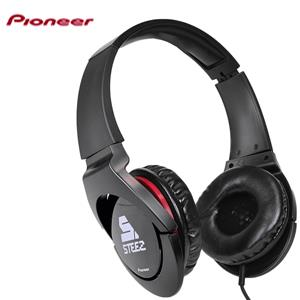 Pioneer Steez Effects Headphone with In-line Microphone 3.5mm jack - Black - BRAND NEW