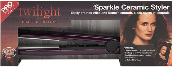 PRO Beauty Tools Twilight Limited Edition Sparkle Ceramic Styling Iron - Razzaks Computers - Great Products at Low Prices