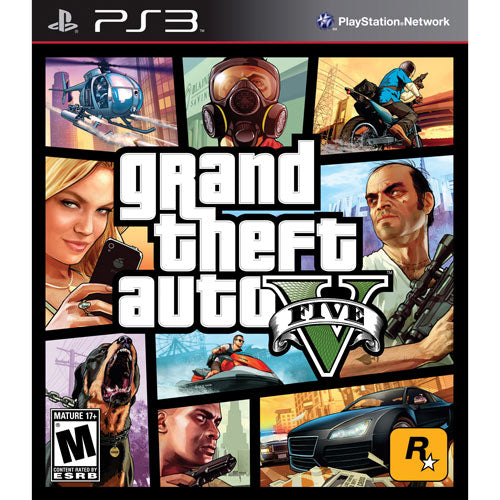 Grand Theft Auto V GTA V for PS3 - Playstation 3 - Razzaks Computers - Great Products at Low Prices