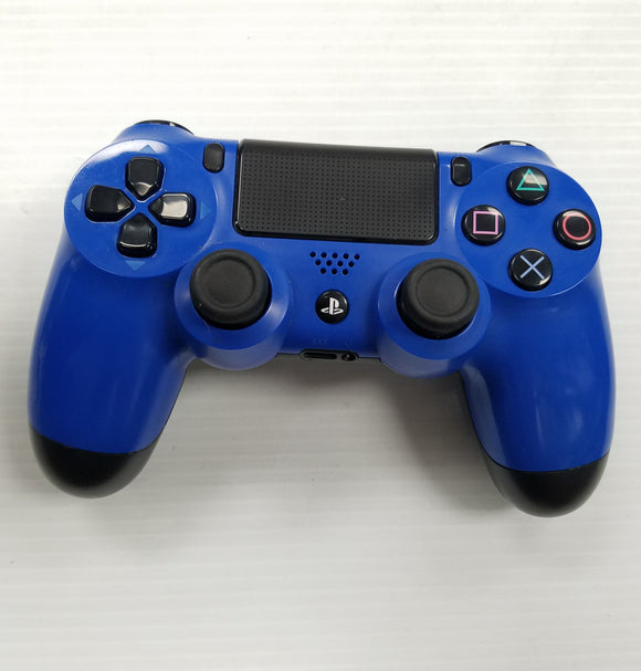 PlayStation 4 DualShock 4 PS4 Wireless Controller - Blue - Refurbished
