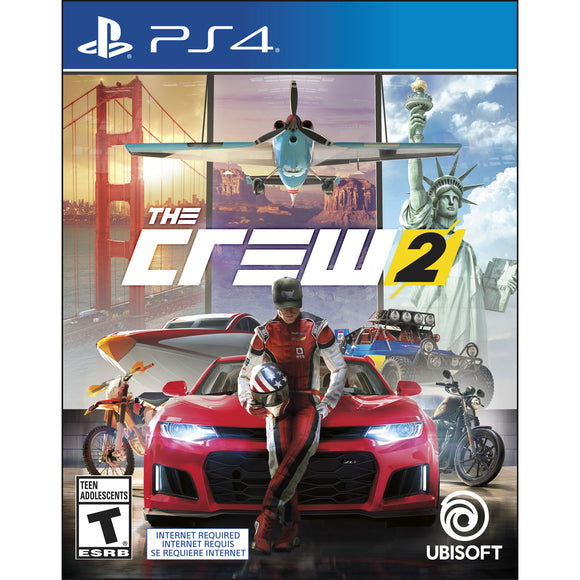 The Crew 2 (PS4) - New - Razzaks Computers - Great Products at Low Prices