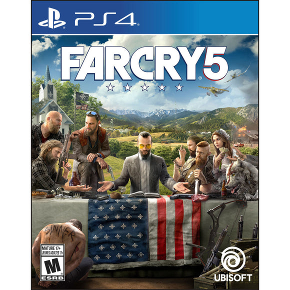 Far Cry 5 (PS4) - English - New