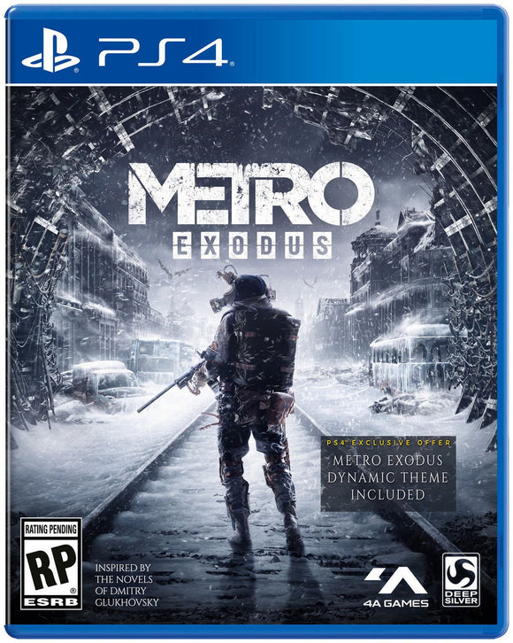 Metro Exodus Day 1 Edition (PS4) - Razzaks Computers - Great Products at Low Prices