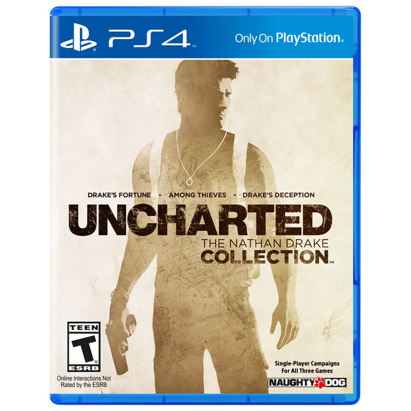 Uncharted: The Nathan Drake Collection (PS4) - English - Used - Razzaks Computers - Great Products at Low Prices