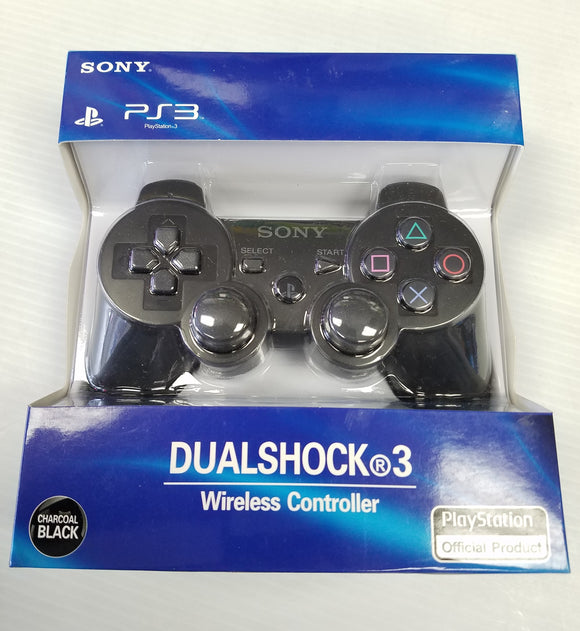 Sony PS3 PlayStation 3 DualShock3 Wireless Controller - Black - PS3 Standard Edition - New - Razzaks Computers - Great Products at Low Prices