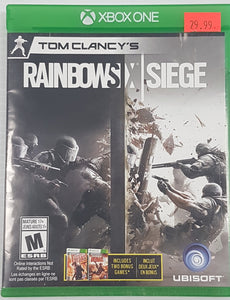 Tom Clancy's Rainbow Six Siege - Xbox One - Includes Two Bonus Games - Used - Razzaks Computers - Great Products at Low Prices