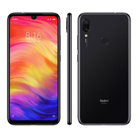 Xiaomi Redmi Note 7 Dual Sim Smartphone 4GB RAM, 64 GB ROM 4G Global Version Black - Razzaks Computers - Great Products at Low Prices