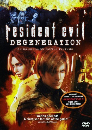 Resident Evil: Degeneration (DVD) An Original CG Motion Picture - New - Razzaks Computers - Great Products at Low Prices