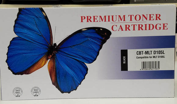 Samsung Compatible Toner Cartridge MLT-D105L for Samsung Printers - New