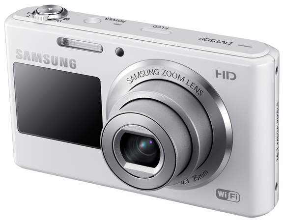 Samsung DV150F 16.2 MP Smart Digital Camera with 5.0x Optical Image - New