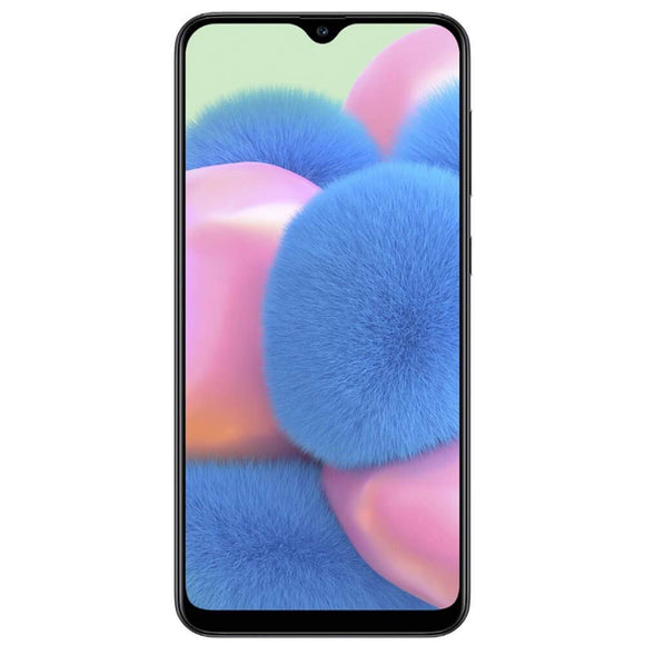 Samsung Galaxy A30S A307G 64GB Unlocked GSM Dual SIM Phone w/Triple (25MP+8MP+5MP) Camera - (Black) - Razzaks Computers - Great Products at Low Prices