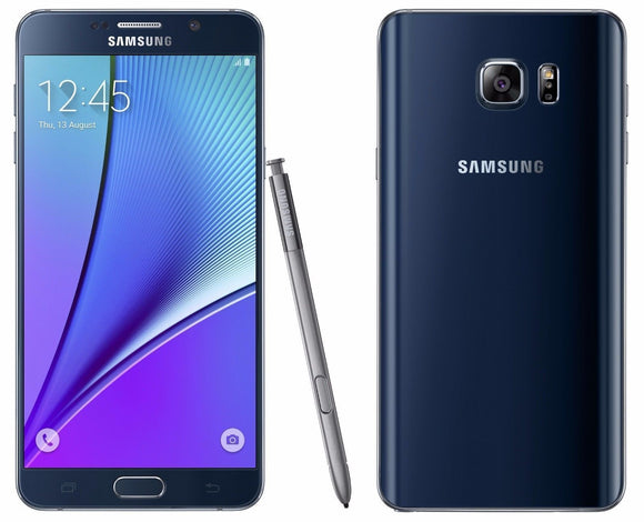 Samsung Galaxy Note 5 SM-920W8 - 32GB - Black Saphire Unlocked Brand New