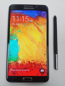 Samsung Galaxy Note 3 SM-N900W8 - 32GB / 3GB 13MP/2MP 5.7 inch Android 5.0 Black - Used - Razzaks Computers - Great Products at Low Prices