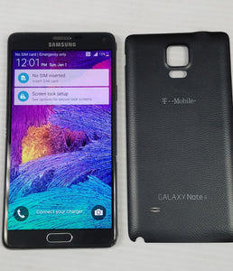 Samsung Galaxy Note 4 SM-N910T 32 GB, 16 MP - Black and White- Seller Refurbished - Razzaks Computers - Great Products at Low Prices