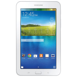"Samsung Galaxy Tab 7"" E Lite 8GB Android 4.4 with Quad-Core Processor - White - New - Razzaks Computers - Great Products at Low Prices"