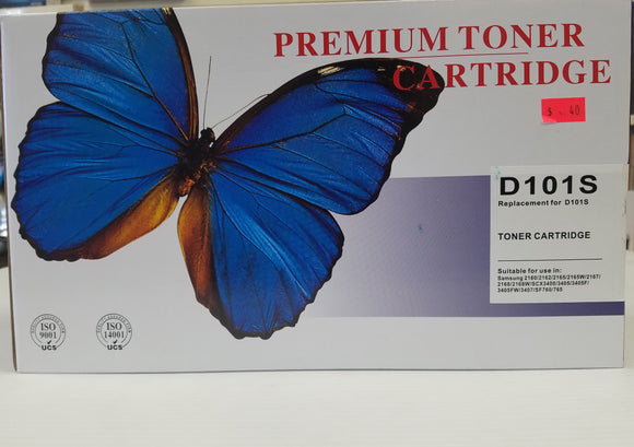 Samsung Compatible Premium Black Toner Cartridge MLT-D101S - BRAND NEW - Razzaks Computers - Great Products at Low Prices