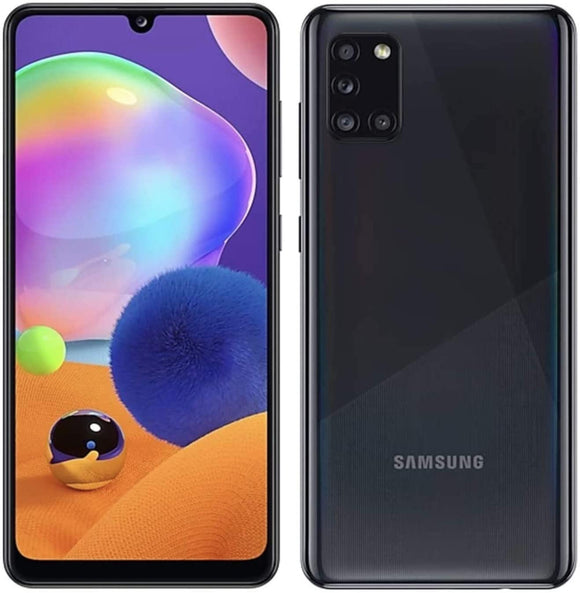 Samsung Galaxy A31- 4GB / 64 GB - A315G/DSL Unlocked Dual Sim Phone w/Quad Camera 48MP+8MP+5MP+5MP GSM - Razzaks Computers - Great Products at Low Prices