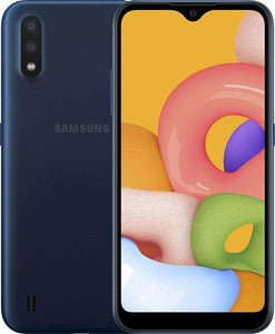 "Samsung Core A01 SM-A013M/DS 16GB, 1GB RAM 5.3"" HD 8MP Rear Camera and 5MP Front Camera"