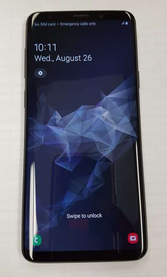 Samsung Galaxy S9 SM-G960W 64GB Black/Grey Unlocked - Used - Razzaks Computers - Great Products at Low Prices