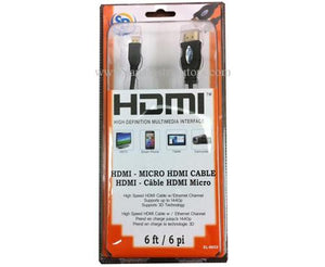 HDMI Cable - High Definition Multimedia Interface 6 feet - New - Razzaks Computers - Great Products at Low Prices