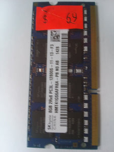 SK Hynix 8 GB 2RX8PC3-12800S-11-13-F3 Notebook Memory HM41GS6AFRSA-PB NO A8 - USED