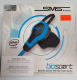 SMS Audio BioSport Earbud (Black/Blue) (Audio Device only) - Brand New - Razzaks Computers - Great Products at Low Prices