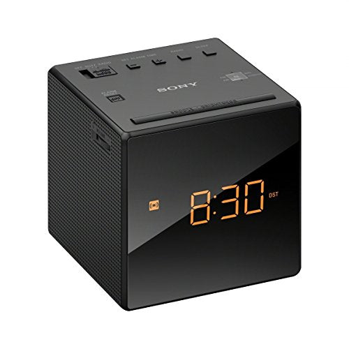 Sony ICF-C1 Alarm Clock Radio, Black - Seller Refurbished - Razzaks Computers - Great Products at Low Prices