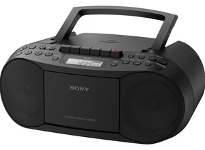 Sony CFD-S70/BC Personal Audio System CD MP3 Cassette FM/AM Portable Boombox - Open Box - Razzaks Computers - Great Products at Low Prices