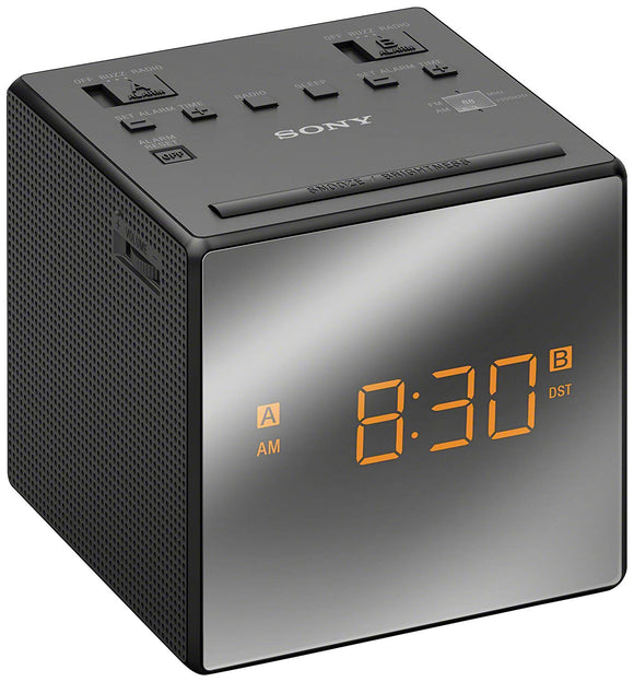 Sony ICF-C1TB Alarm Clock Radio, Black - Seller Refurbished - Razzaks Computers - Great Products at Low Prices