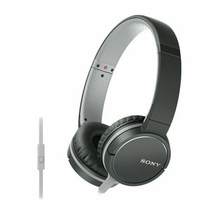 Sony MDR-ZX660APBC Lightweight On-Ear Headphone with Smartphone Control - Black - Refurbished