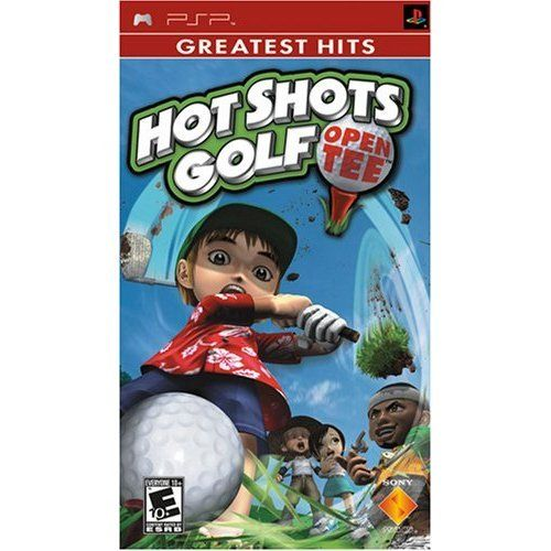 Sony PSP Game: Hot Shots Golf Open Tee - New
