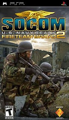 Sony PSP Game: SOCOM U.S. Navy Seals Fireteam Bravo 2 - New