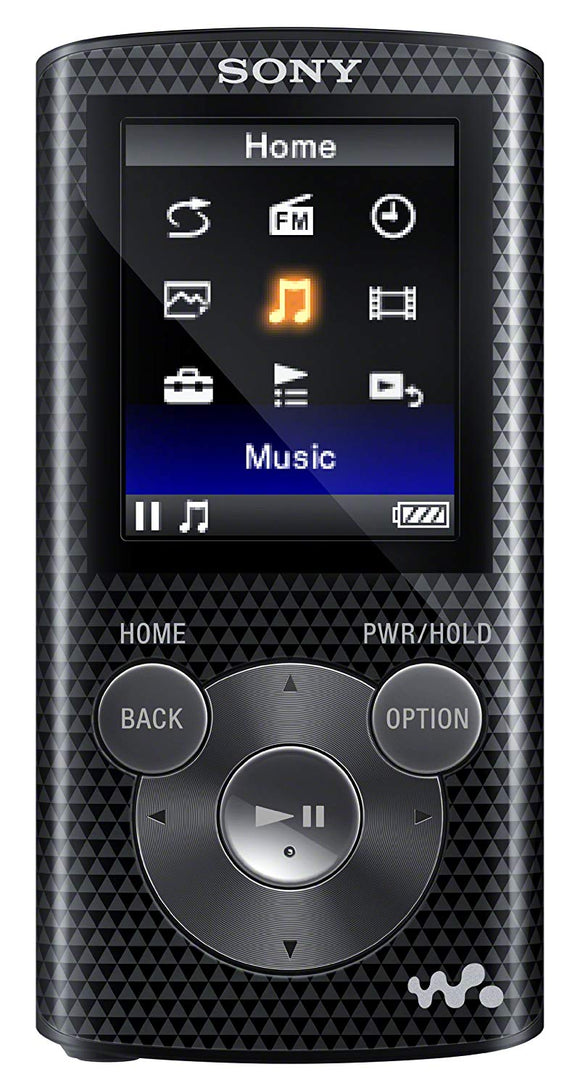 Sony NWZ-E384 8 GB Walkman MP3 Video Player (Black) - Seller Refurbished - Razzaks Computers - Great Products at Low Prices