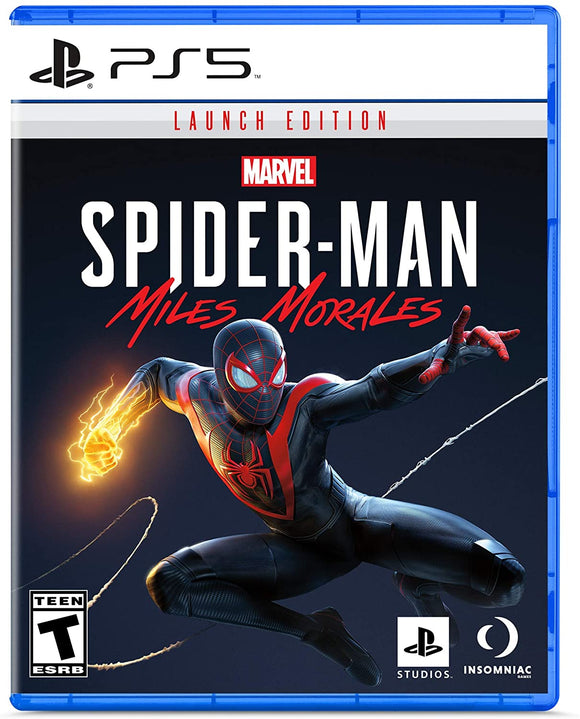 Spider-Man: Miles Morales PS5 Launch Edition for PlayStation 5 - New - Razzaks Computers - Great Products at Low Prices