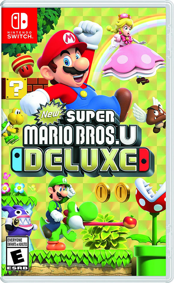 Super Mario Bros U Deluxe for Nintendo Switch - New - Razzaks Computers - Great Products at Low Prices