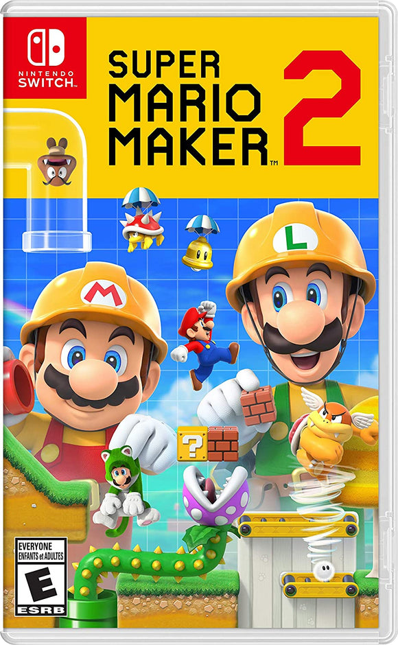 Super Mario Maker 2 for Nintendo Switch - New - Razzaks Computers - Great Products at Low Prices