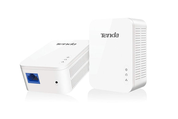 Tenda AV1000 1-Port Gigabit Powerline Adapter, Up to 1000Mbps (PH3)- NEW