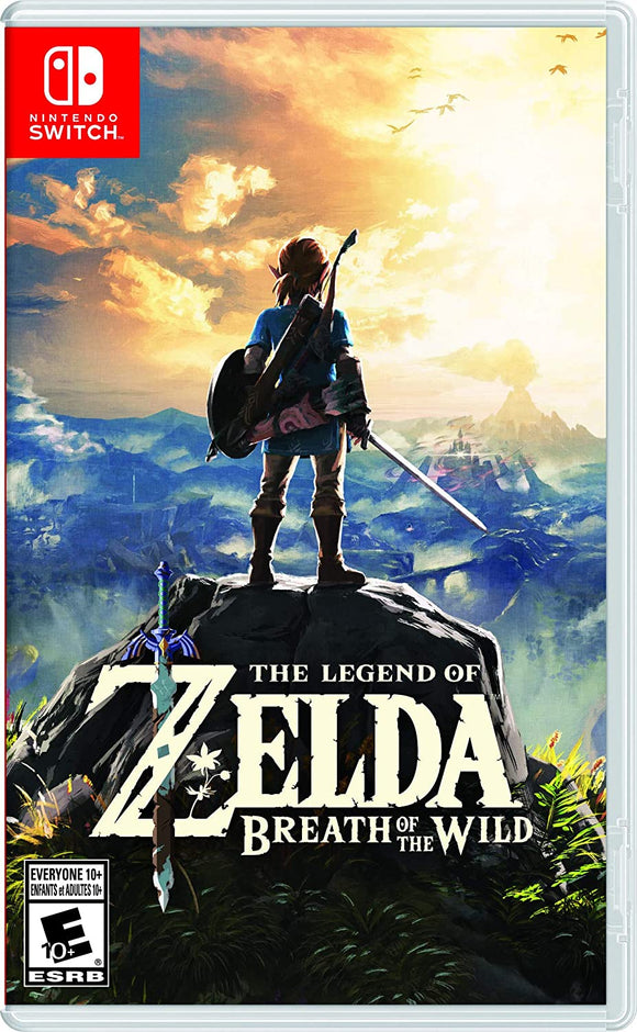The Legend of Zelda Breath of the Wild for Nintendo Switch - New - Razzaks Computers - Great Products at Low Prices