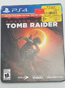 Shadow of the Tomb Raider - PlayStation 4 PS4 - Steelbook Edition - Used - Razzaks Computers - Great Products at Low Prices
