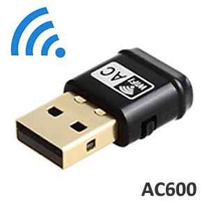 TopSync AC600 Wireless Dual Bank Mini USB Adapter W600M - New - Razzaks Computers - Great Products at Low Prices