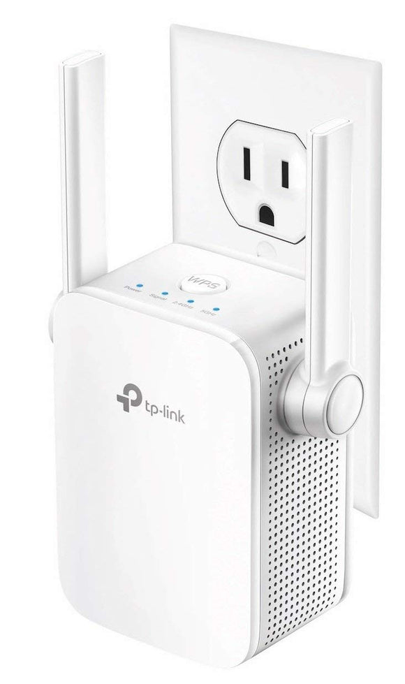 TP-Link AC1200 Dual Band WiFi Range Extender, Repeater, Access Point (RE305) - NEW