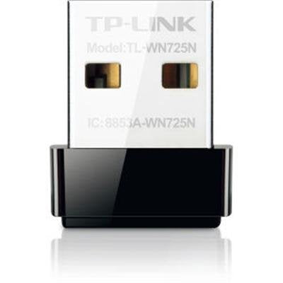 TP-LINK TL-WN725N Wireless Nano USB - 150Mbps, 802.11b/g/n, 150Mbps - New - Razzaks Computers - Great Products at Low Prices