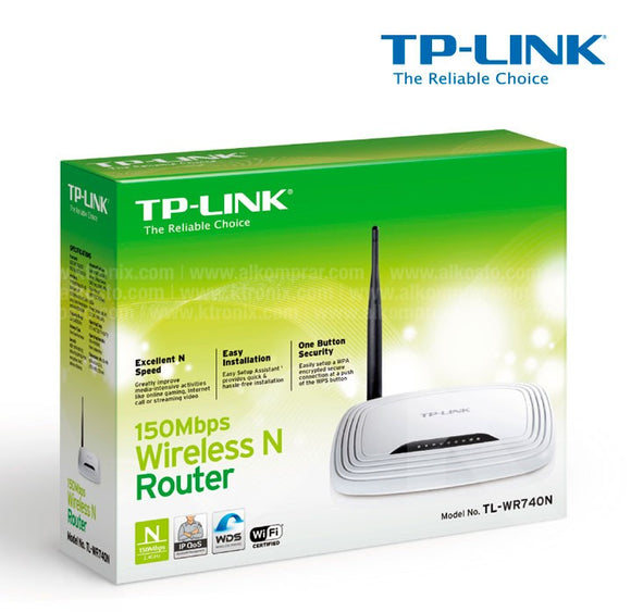 TP-Link TL-WR740N Router Wireless N 150 Mbps 10/100 - BRAND NEW