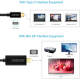 USB C to Mini DisplayPort Cable 4K/60Hz, 5.9 ft/1.8m (Thunderbolt 3 Compatible) - New - Razzaks Computers - Great Products at Low Prices