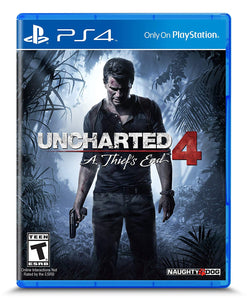 Uncharted 4: A Thief's End - PlayStation 4 PS4 - Standard Edition - New - Razzaks Computers - Great Products at Low Prices