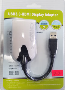 USB 3.0 to HDMI Display Adapter for Windows - New - Razzaks Computers - Great Products at Low Prices