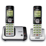 VTech CS6719-2 2 Handset Cordless Phone with Caller ID/Call Waiting, Silver/Black - Refurbished - Razzaks Computers - Great Products at Low Prices