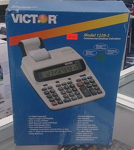 Victor® 1228-2 12-Digit Printing Calculator - Razzaks Computers - Great Products at Low Prices