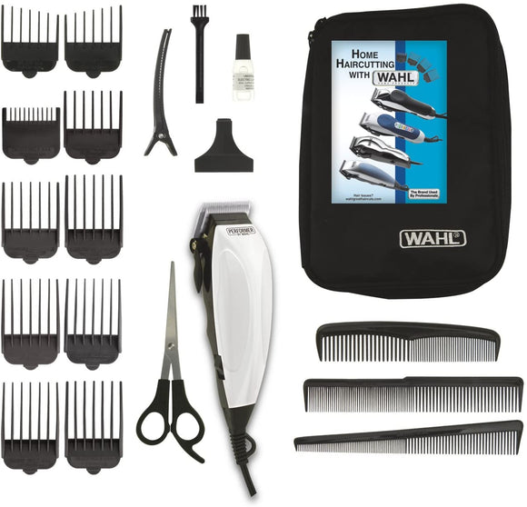 Wahl Performer 20-Piece Home Cut Haircut Kit, Hair Clipper, Hair Trimming Kit 3160 - Razzaks Computers - Great Products at Low Prices