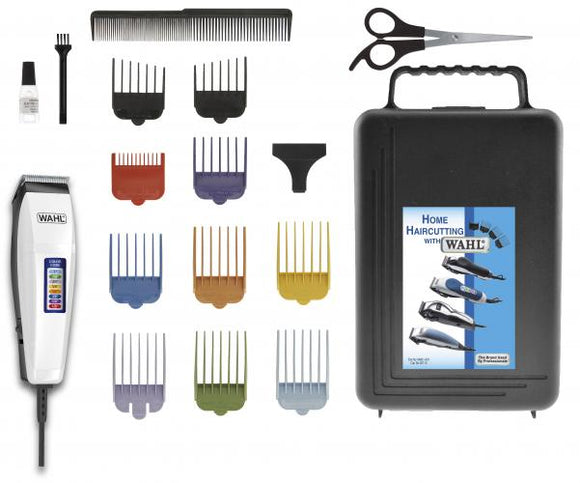 Wahl 17-Piece Color Pro Hair Clipper Hair Trimmer Haircutting Kit - Razzaks Computers - Great Products at Low Prices